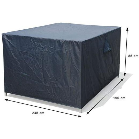 Garden Impressions Coverit Schutzhülle für Loungegruppen 245x190x85cm Dunkelgrau
