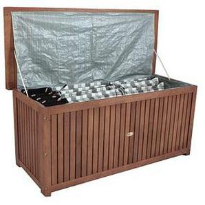 Harms Garden Pleasure Washington Auflagenbox 236,0 l braun 133,0 x 58,0 x 55,0 cm