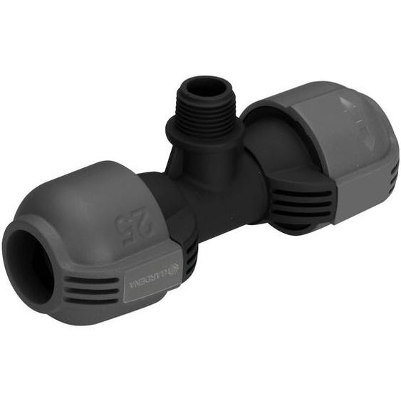 Gardena T-Stück für Sprinklersystem Ø 25 mm x 13 mm (1/2) AG