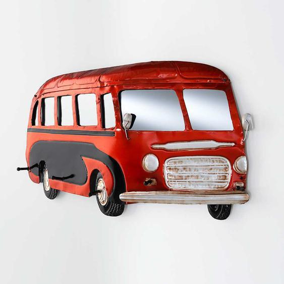 Garderobe als Bus Metall