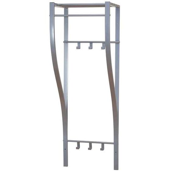 Garderobe aus Stahl 40 cm breit