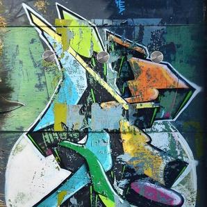 Garderobe 50/125 cm, bunt, 50/125 cm, »Graffiti«,