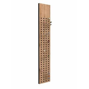 Garderobe Scoreboard We Do Wood, Designer Sebastian Jorgensen, 100x18x2 cm