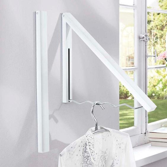 Garderobe »Kroko«, 42x37x4.5 cm (BxHxT), Schneider, weiß, Material Eisen