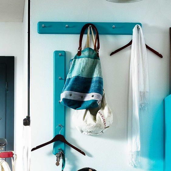 Garderoben Hakenleiste in T�rkis modern