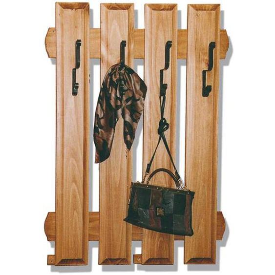 Garderoben Paneel aus hellem Kieferholz