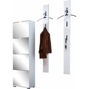 Garderoben-Set  »Colorado«, weiß, GERMANIA