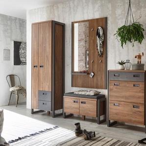 Home affaire Garderoben-Set , braun, »Detroit«