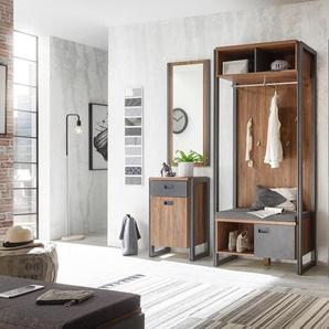 Home affaire Garderoben-Set »Detroit«, braun