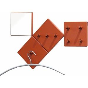 Garderoben-Set, rot, HAKU