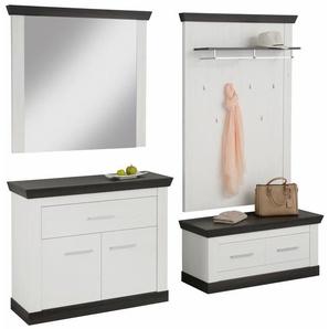 Home affaire Garderoben-Set , weiß, »Siena«, FSC®-zertifiziert