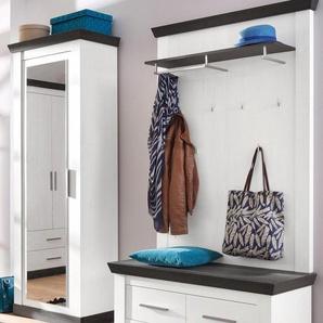 Home affaire Garderoben-Set »Siena«, weiß, FSC-Zertifikat, , , FSC®-zertifiziert