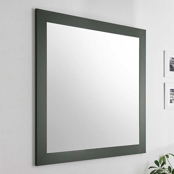 Garderoben Spiegel in Dunkelgrün Landhausstil