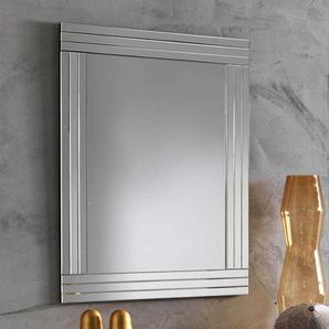 Garderoben Spiegel mit Facettenschliff 70 cm breit