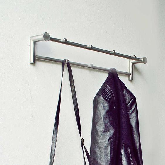 Garderobenhaken aus Edelstahl gebürstet