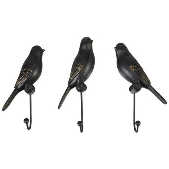 Garderobenhaken-Set Birds