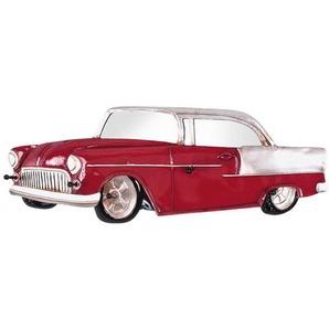 Garderobenleiste als Auto Rot Silber