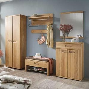 Garderobenmöbel aus Wildeiche Made in Germany (7-teilig)