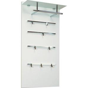 Garderobenpaneel 1200 CSF Einheitsgröße weiß Garderobenpaneele Garderoben