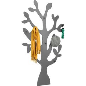 Garderobenpaneel Der Baum 0, 98,5x7x186,5 cm grau Garderobenpaneele Garderoben