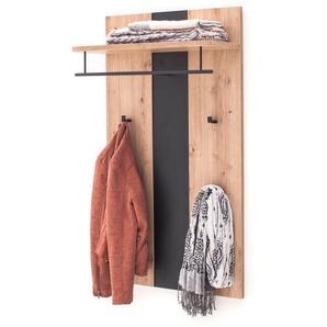 Garderobenpaneel Göhren 3 Balkeneiche 67x122x28 cm Paneel Garderobe