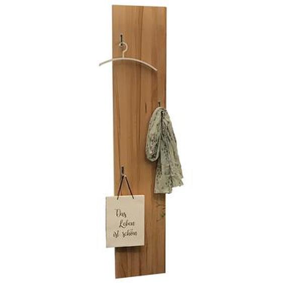 Garderobe Garderobenpaneel Kernbuche Massivholz