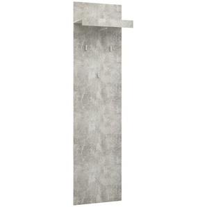 Garderobenpaneel  Mallin | grau | 50 cm | 195,4 cm | 28,2 cm |