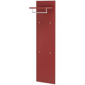 Garderobenpaneel - rot - 40 cm - 151 cm - 30 cm | Möbel Kraft