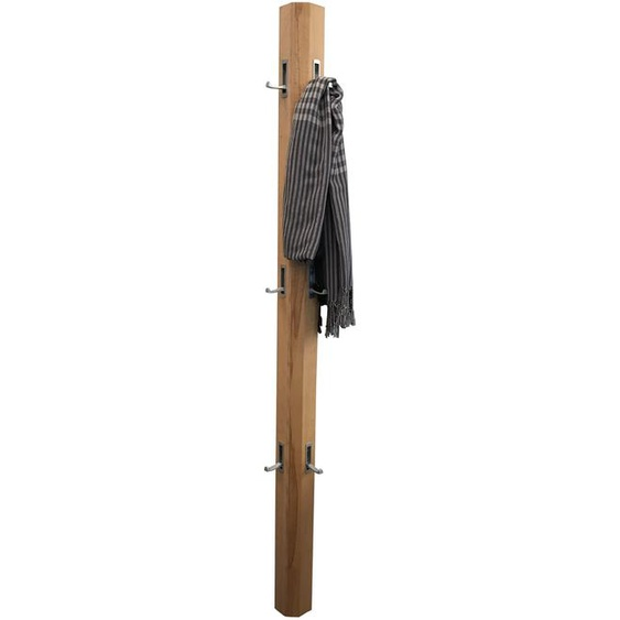 Garderobe Garderobenpaneel Trapez Kernbuche Massivholz