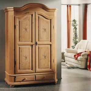Garderobenschrank aus Fichte Massivholz abschlie�bar