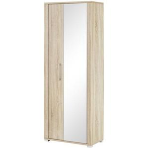 Garderobenschrank  Sirmione ¦ Maße (cm): B: 74 H: 200 T: 40