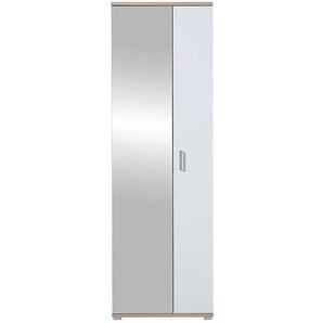 Garderobenschuhschrank mit Spiegel Tür 70 cm breit