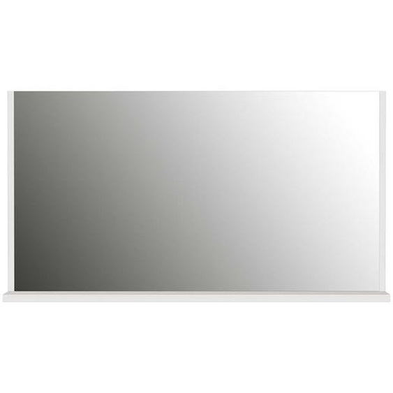 Garderobenspiegel in Creme Weiß 65 cm hoch