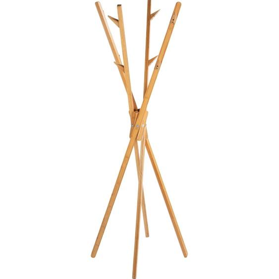 Garderobenständer »Mikado«, braun, Material Bambus, WENKO