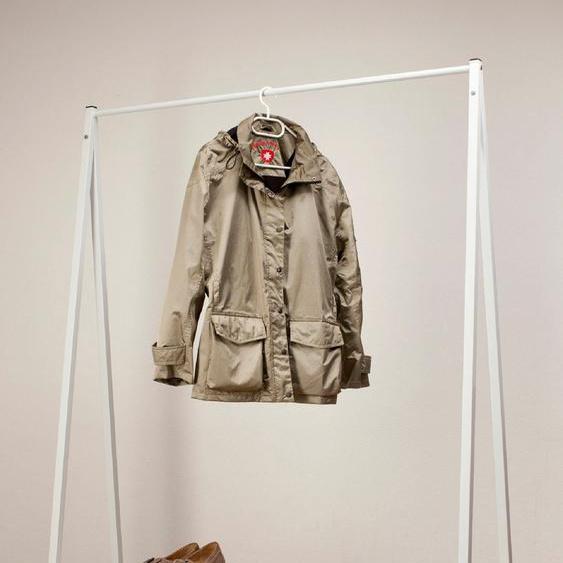 Garderobenständer, weiß, Material Holz »Robin«, GGG MÖBEL, lackiert