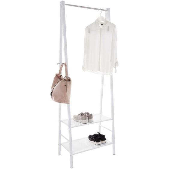 Garderobenständer, weiß, Material Metall, heine home