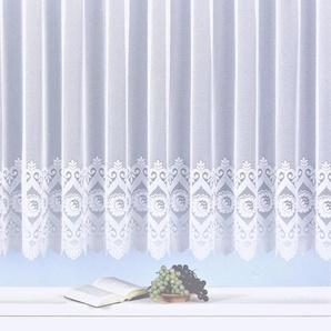 Gardine »Homburg«, Weckbrodt, Kräuselband (1 Stück), gerader Abschluss
