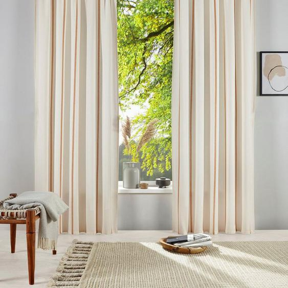 Gardine »Matts«,  products, Stangendurchzug (1 Stück), blickdichter Vorhang