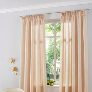 Gardine »Naviv«, Home affaire, Multifunktionsband (2 Stück), halbtransparent, nachhaltig, HxB: 300x140, für hohe Decken