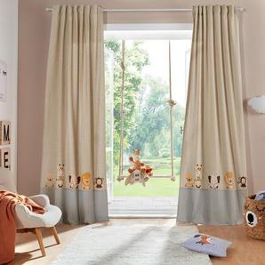 Vorhang »Tiere«, Lüttenhütt, Multifunktionsband (1 Stück), Kindervorhang