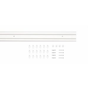 Gardinenschiene »Vorhang-Schiene SAM 1-Lauf«, Good Life, 2-läufig, Wunschmaßlänge