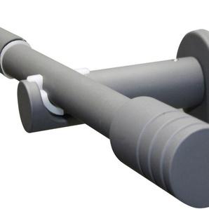 Gardinenstange »Gardinenstangen Set Ø 16/19 mm«, GARDINIA, Ø 19 mm, 1-läufig, ausziehbar, Serie Elba Zylinder