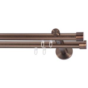 Gardinenstange »Linz«, indeko, Ø 20 mm, 2-läufig, Wunschmaßlänge
