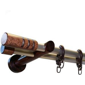 Gardinenstange »Prisma Pempia«, GARESA, Ø 20 mm, 2-läufig, Wunschmaßlänge