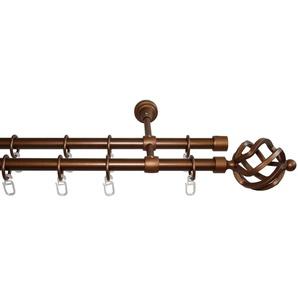 Gardinenstange »Rustika Korb«, GARESA, Ø 16 mm, 2-läufig, Wunschmaßlänge