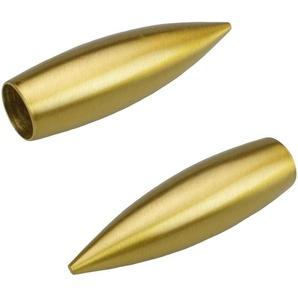 Gardinenstangen-Endstück »Bullet«, Liedeco, Gardinen, (Set, 2-St), für Gardinenstangen Ø 16 mm