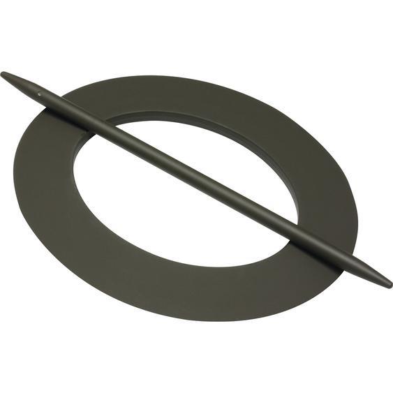 Gardinia Deko-Ring oval dunkelbraun 15/18 cm