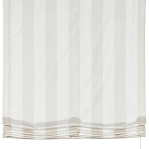 Gardisette Raffrollo Duo, mit Schlaufen 170 cm, Schlaufen, 80 cm beige Wohnzimmergardinen Gardinen nach Räumen Vorhänge