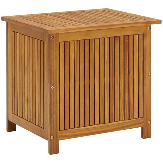Garten-Aufbewahrungsbox 60x50x106 cm Massivholz Akazie
