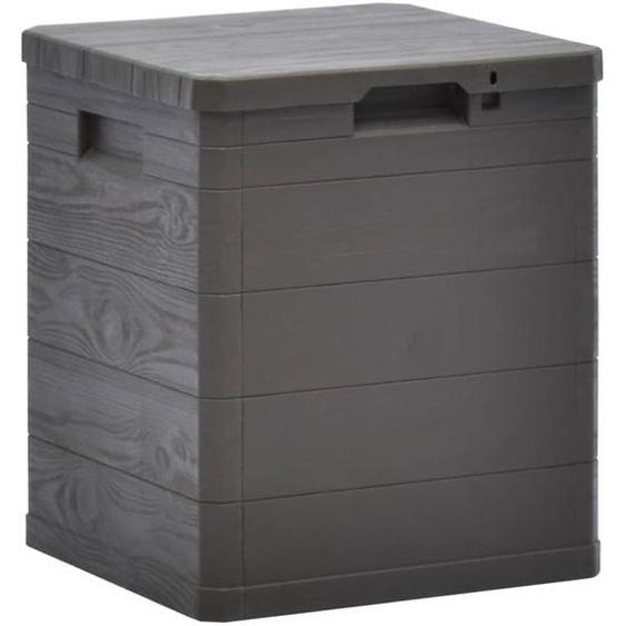 Garten-Aufbewahrungsbox 90 L Braun
